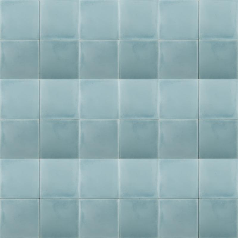plain baby blue coloured tile
