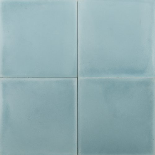 plain baby blue coloured tile
