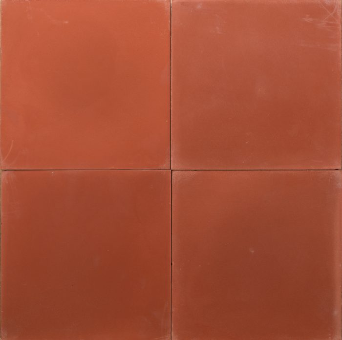 dark rust coloured tile