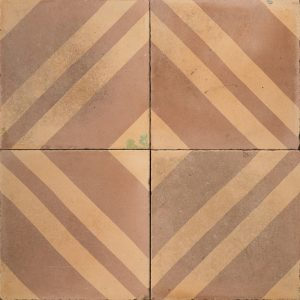 Brown and orange tile