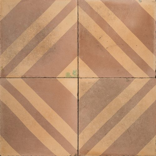 Brown and orange tile