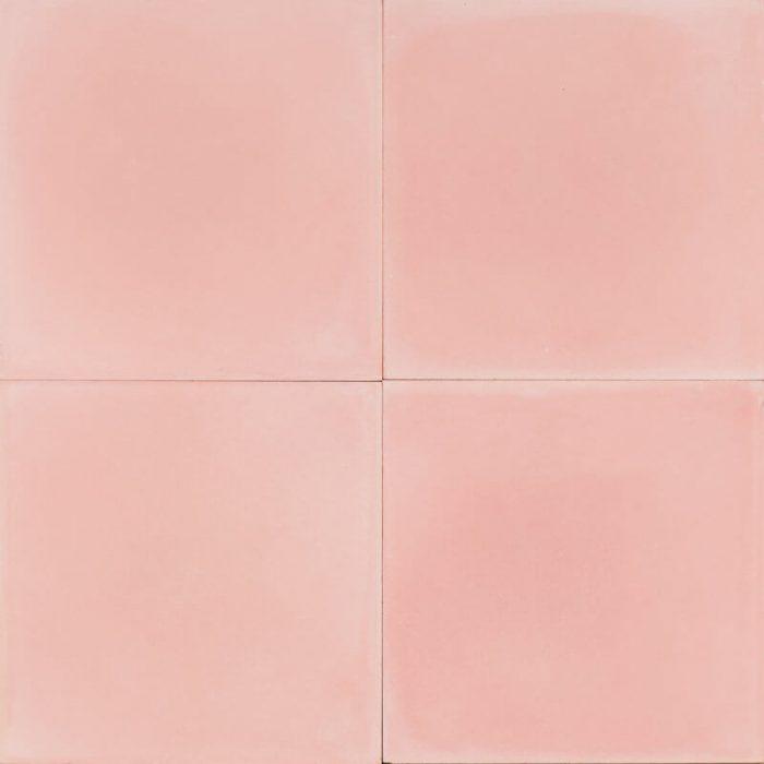 Plain pink tile