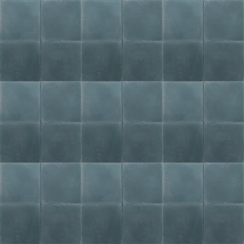 smokey blue coloured tile