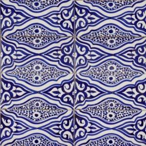 Moroccan Handmade Tile Essaouira Oasis