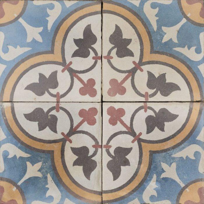 blue palazzo antique tile