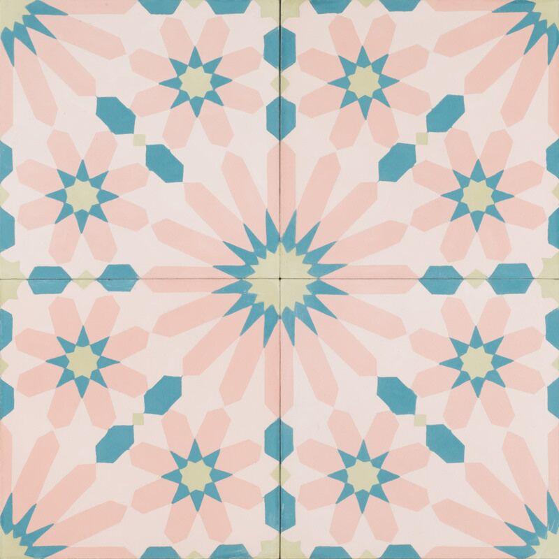pink fez tile