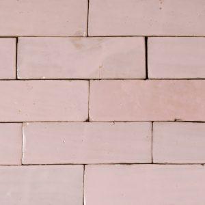Baby Pink Glazed tile