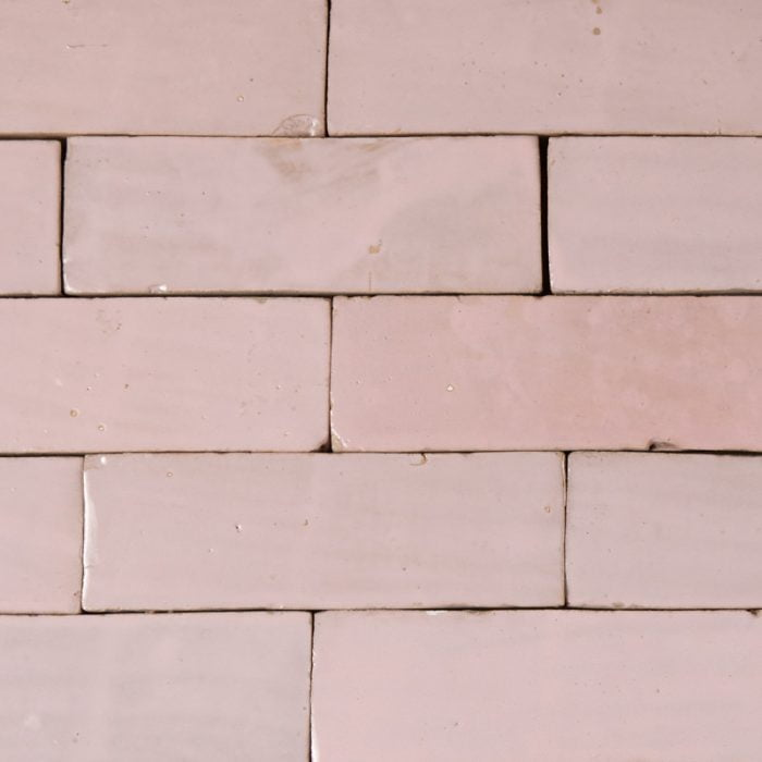 Baby Pink Glazed tile