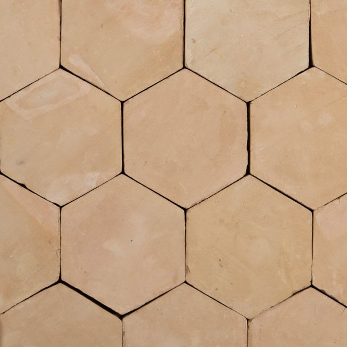 Oatmeal Hex Terracotta