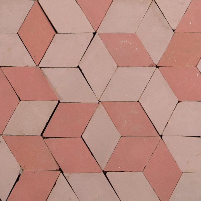 Pink Cubes Tile